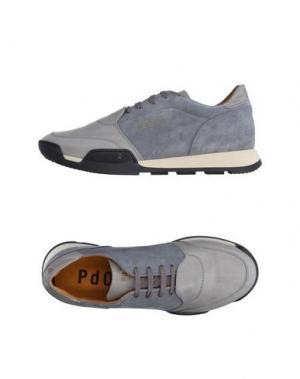 Низкие кеды и кроссовки PANTOFOLA D'ORO. Цвет: серый