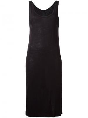 Платье без рукавов Thom Krom. Цвет: синий