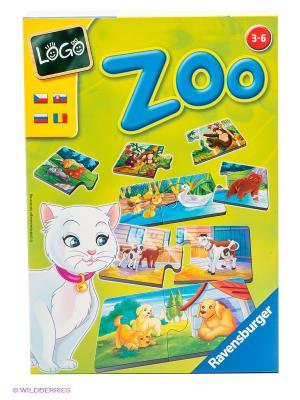 Настольная игра Лого Зоо Ravensburger. Цвет: желтый, синий