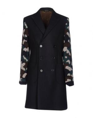 Пальто LC23. Цвет: темно-синий