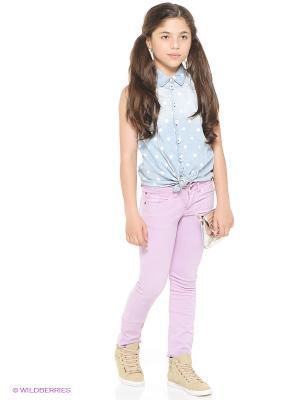 Рубашка GARCIA. Цвет: светло-голубой