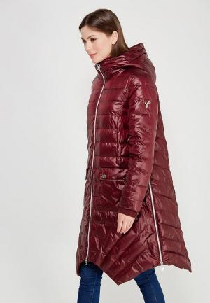 Куртка утепленная Odri Mio. Цвет: бордовый