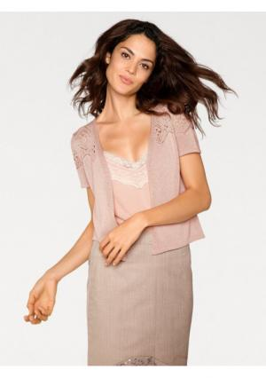 Кардиган Linea Tesini. Цвет: розовый