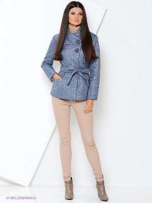 Куртка DizzyWay. Цвет: серо-голубой