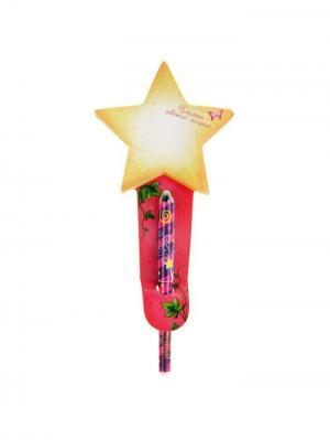 Набор ручка, блокнот Bizon. Цвет: розовый