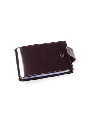 Визитница карманная BEFLER. Цвет: коричневый