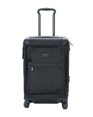 Чемодан/сумка на колесиках TUMI. Цвет: черный