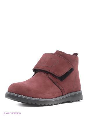Ботинки STROBBS. Цвет: бордовый, розовый