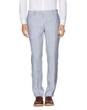 Повседневные брюки HARRY & SONS. Цвет: темно-синий