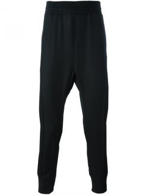 Мешковатые брюки Wooyoungmi. Цвет: чёрный