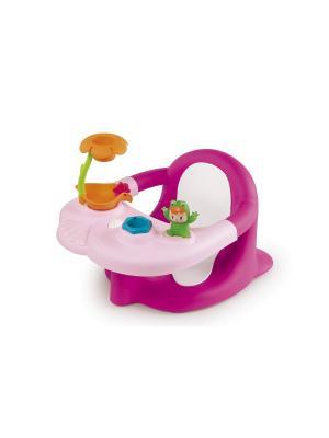 Стульчик дл ванной, розовый, 49*34*26 см, Cotoons Smoby. Цвет: розовый