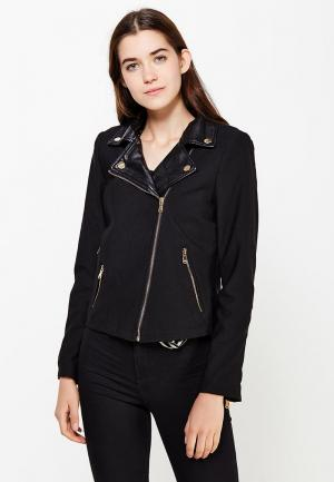 Куртка Regular. Цвет: черный