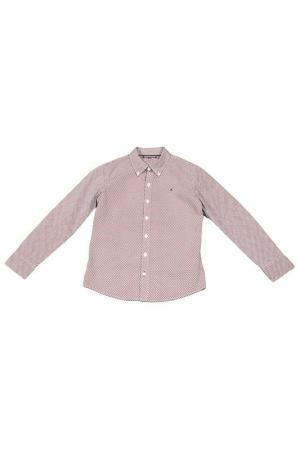 Сорочка Tommy Hilfiger. Цвет: розовый