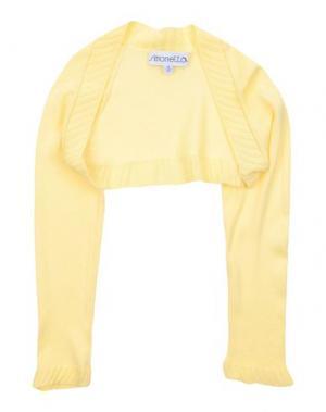 Болеро SIMONETTA. Цвет: желтый