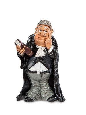Статуэтка Судья The Comical World of Stratford. Цвет: черный, серый