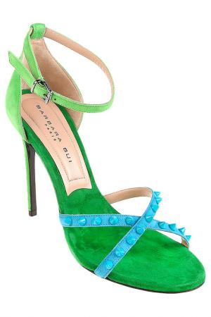Туфли летние Barbara Bui. Цвет: зеленый
