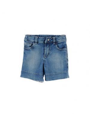 Джинсовые шорты NANÁN. Цвет: синий