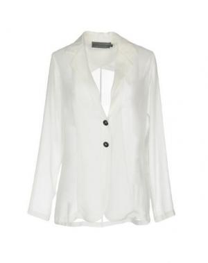 Пиджак MARIA CALDERARA. Цвет: белый