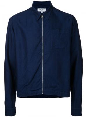 Куртка Bowie YMC. Цвет: синий