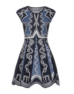 Короткое платье PETER PILOTTO. Цвет: темно-синий