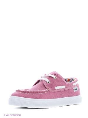 Мокасины FACE. Цвет: розовый