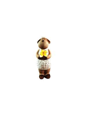 Садовая фигура - Овечка Marquis. Цвет: белый, коричневый