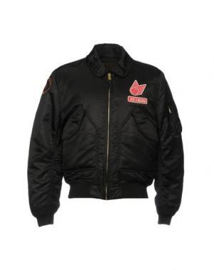 Куртка DEUS EX MACHINA. Цвет: черный