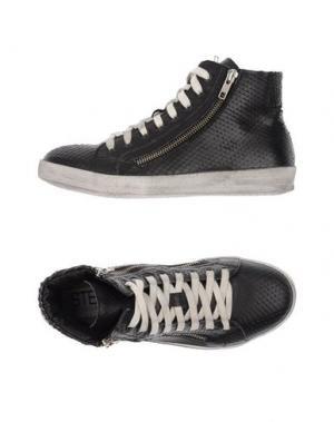 Высокие кеды и кроссовки STELE. Цвет: черный