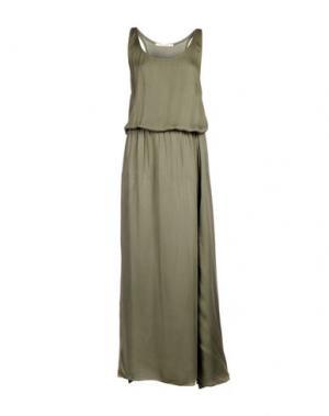 Длинное платье GIORGIA & JOHNS. Цвет: зеленый-милитари
