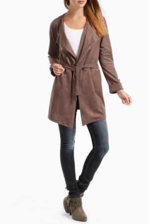 Пальто RINO & PELLE. Цвет: коричневый