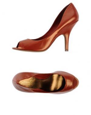 Туфли JESSICA SIMPSON. Цвет: ржаво-коричневый
