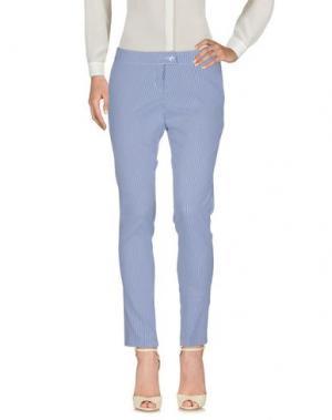 Повседневные брюки PAOLO CASALINI. Цвет: синий
