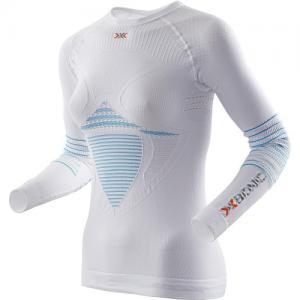 Термо-Кофта X-Bionic. Цвет: white/turquoise