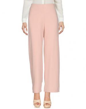 Повседневные брюки KONTATTO. Цвет: светло-розовый