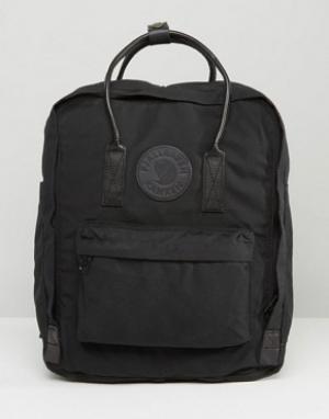 Fjallraven Черный рюкзак объемом 16 литров Kanken No.2. Цвет: черный