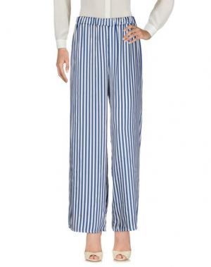 Повседневные брюки MOTEL. Цвет: синий