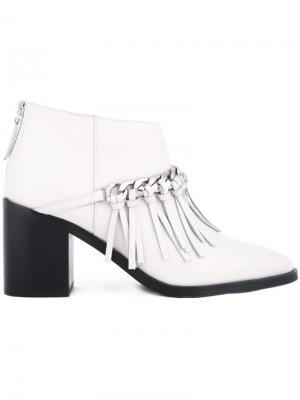 Ботинки по щиколотку Halia Senso. Цвет: белый