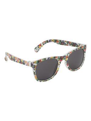 Солнцезащитные очки Wild Thing Molo. Цвет: зеленый