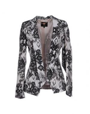 Пиджак SLY010. Цвет: белый