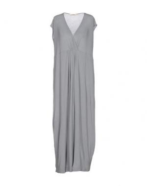 Платье длиной 3/4 TROU AUX BICHES. Цвет: серый