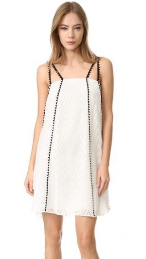 ZAC  Catalina платье Posen. Цвет: белый