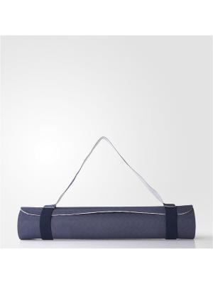 Коврик для йоги жен. YOGA MAT Adidas. Цвет: синий