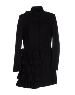 Пальто PINK BOW. Цвет: черный