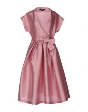 Платье длиной 3/4 NORA BARTH. Цвет: розовый