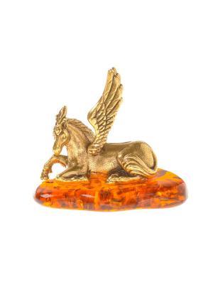 Фигура Пегас Aztek. Цвет: желтый, коричневый, светло-оранжевый