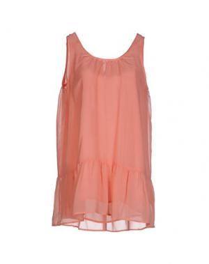 Короткое платье EMMA&GAIA. Цвет: лососево-розовый