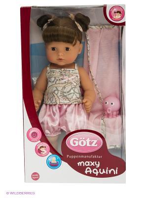 Кукла Максиаквини, шатенка, карие глаза GOTZ. Цвет: розовый