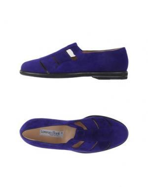 Мокасины LORENZO BANFI. Цвет: фиолетовый