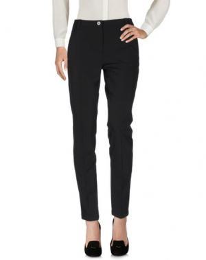 Повседневные брюки DIAMANTE. Цвет: черный