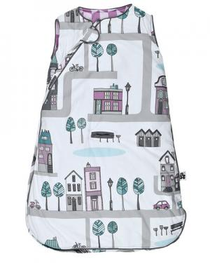 Спальный мешок Sebra. Цвет: фиолетовый